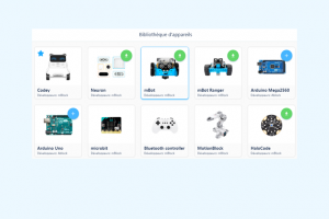 Installer les blocs du mBot